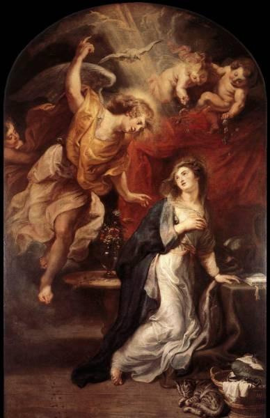 Rubens Annunciation c1628